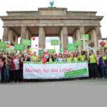 MARSCH FÜR DAS LEBEN in Berlin